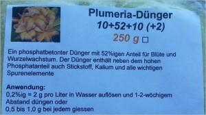 Plumeria Spezialdünger